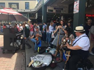 market musicians